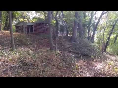 Abandoned Cabin Ruins on Rancocas Creek.