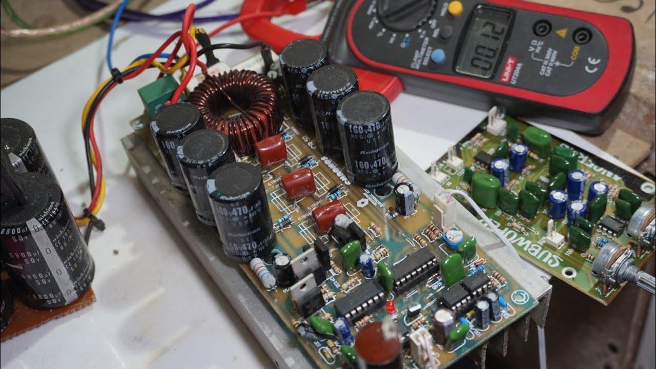 Power Amplifier Class D D4k5 Test Youtube A Is Classa Transistor