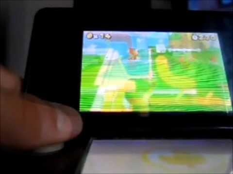 Super Mario 3D Land Monedas estrella M1-1 y M1-2