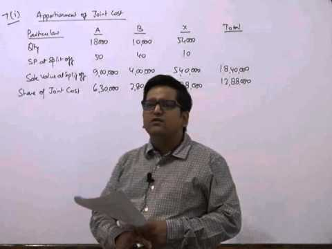 CA IPCC Cost Accounting May 2016 RTP Class- Part 2 by CA Raj K Agrawal