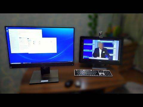 Обзор Моноблока DELL Optiplex 7770 27 дюймов и сравнение с моноблоком ASUS