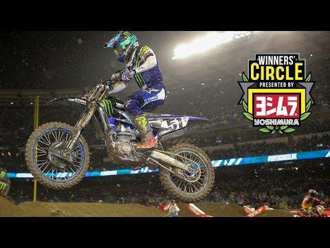 Winners' Circle: A1 450 winner, Justin Barcia