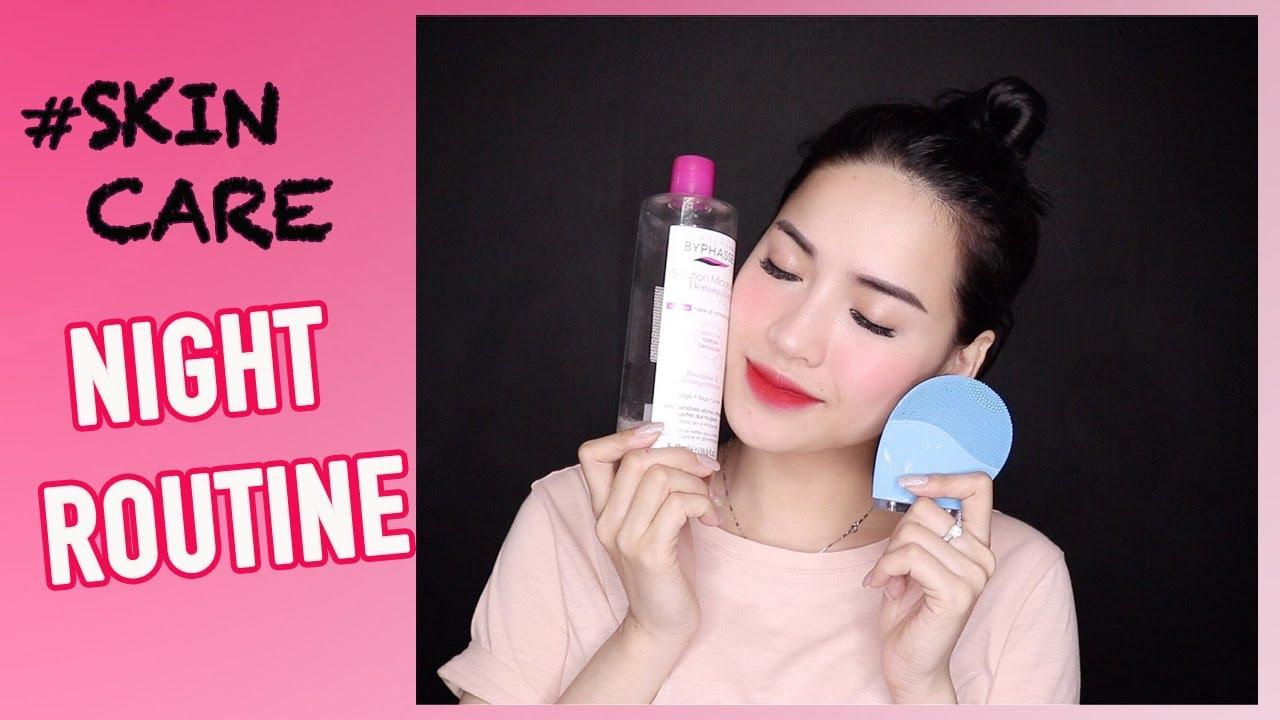 Chăm Sóc Da Buổi Tối Rẻ & Xịn – Night Skincare Routine | Thói Quen Mỗi Tối | Tổng quát các tài liệu liên quan mặt nạ nước hoa hồng đầy đủ nhất