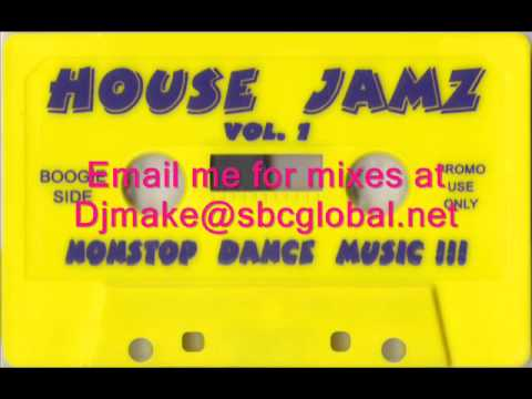 House Jamz Vol 1 - Boogie Boy Luis  - 90's Chicago House Mix Old School House B96 Wbmx