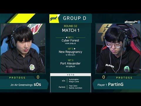 [2019 GSL Season 1] Ro.32 Group D Match1 sOs vs PartinG