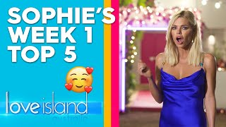 Sophie Monk reveals her favourite moments from week one  | Love Island Australia 2019