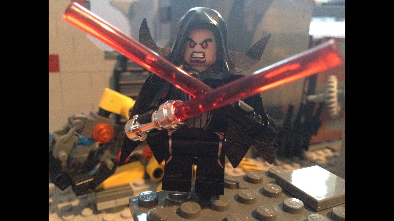 LEGO Star Wars Custom Sith Lord - YouTube