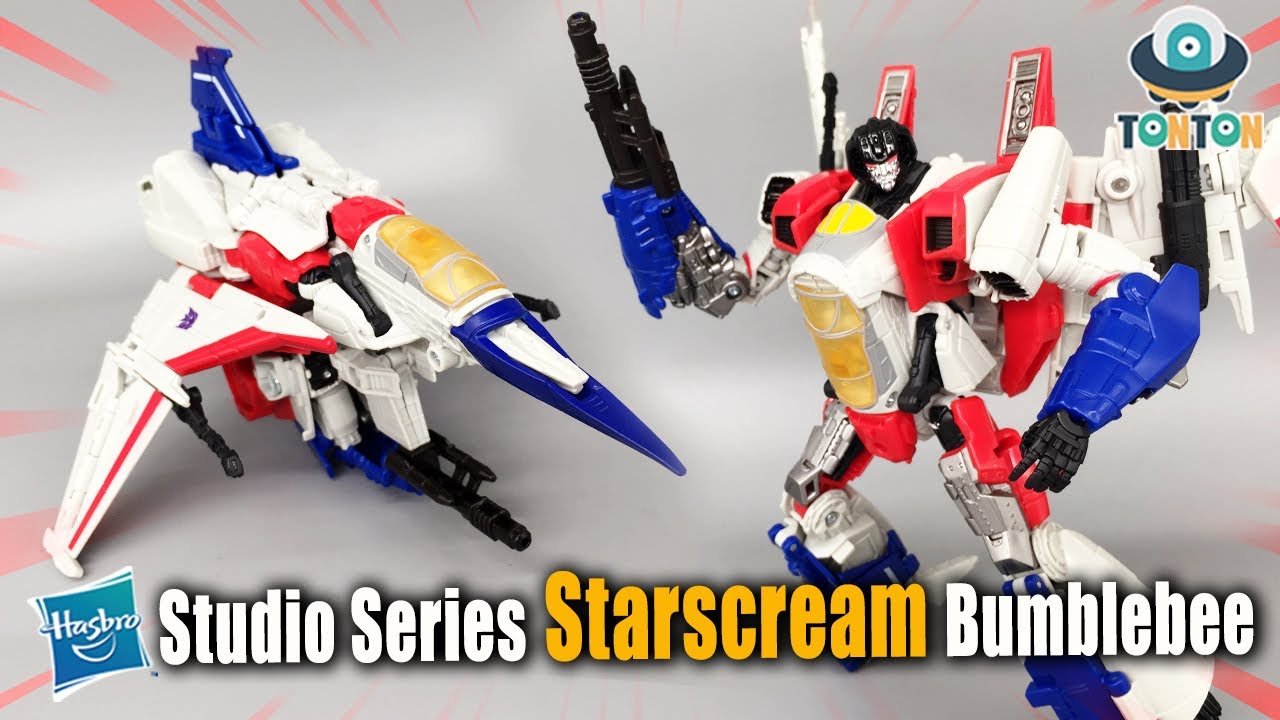 Transformer Studio series SS 72 Voyager Class StarScream In-Hand by TonTon Review