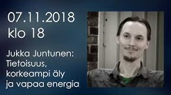 RTV:n luennolla: Jukka Juntunen
