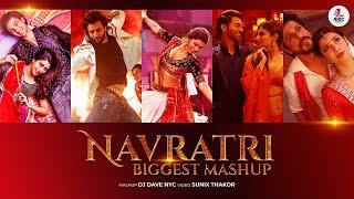 Navratri Mashup (Garba Special) | DJ Dave NYC | Sunix Thakor | Latest Garba Songs Mashup