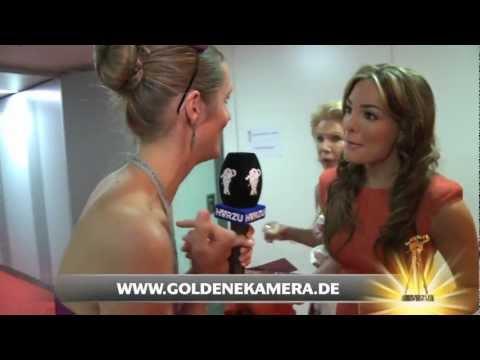 Interview mit Chiara Ohoven - Goldene Kamera 2012