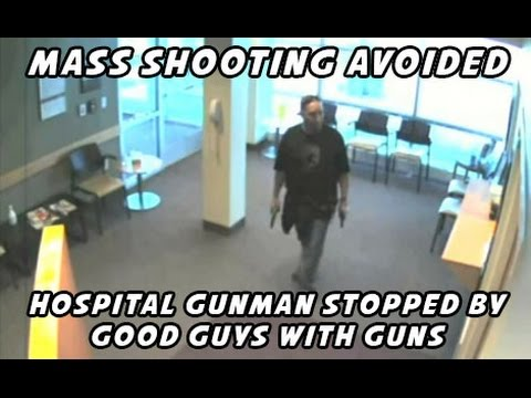 The only thing that stops a bad guy with a gun is a good guy with a gun
