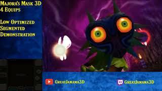 Majora's Mask 3D 4 Equip