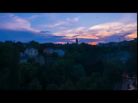 Luxembourg 4k time-lapse