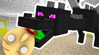 THE ENDER DRAGON ATE BALDI! | New Baldi's Basics Mod
