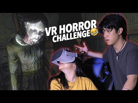 3AM VR HORROR CHALLENGE | Ranz and Niana