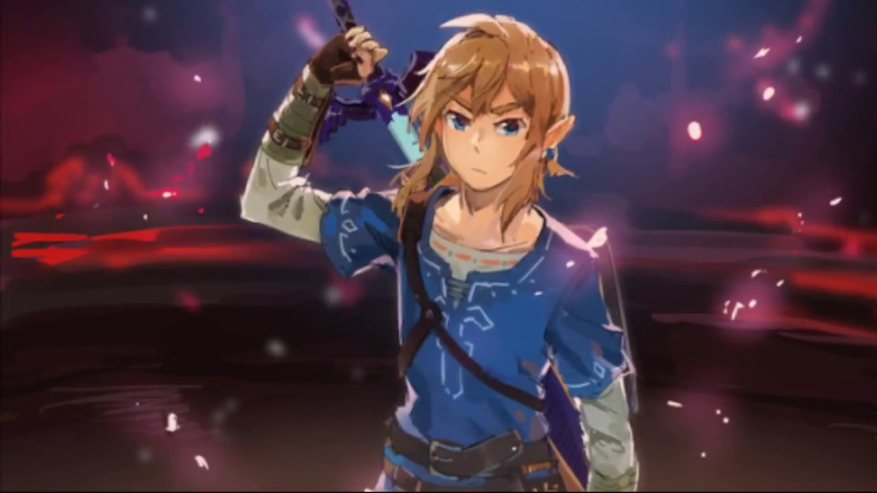 Zelda Breath Of The Wild Tribute Fanart Music Video Amv Gmv Spoilers