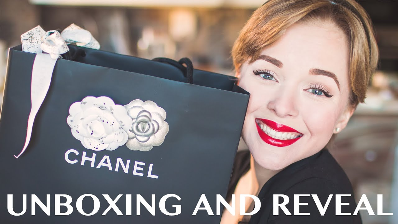 Chanel CC Crystal Brooch unboxing - YouTube