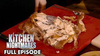 Gordon Ramsay Teaches Owners How To Carve A Roast Chicken   Kitchen Nightmares FULL EPISODE