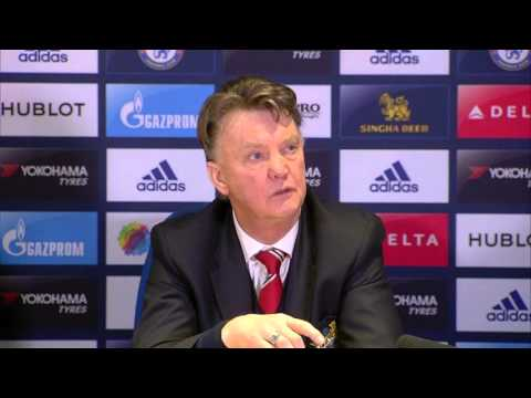 Louis van Gaal loses his cool over Mourinho suggestions post Chelsea 1 - Man United 1