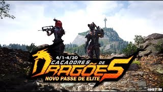 Passe de Elite : CAÇADORES DE DRAGÕES | FREE FIRE
