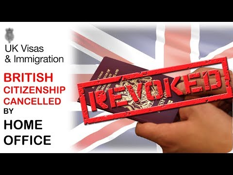British Citizenship Cancelled Unlawfully by Home Office | UKVI || UKBA || UK IMMIGRATION | 2018 HD