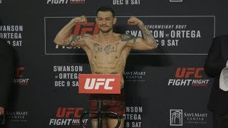 Fight Night Fresno: Official Weigh-ins