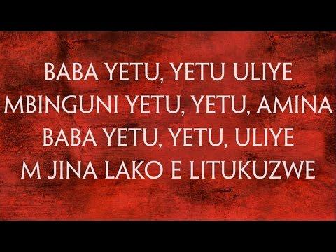 Baba Yetu with Lyrics