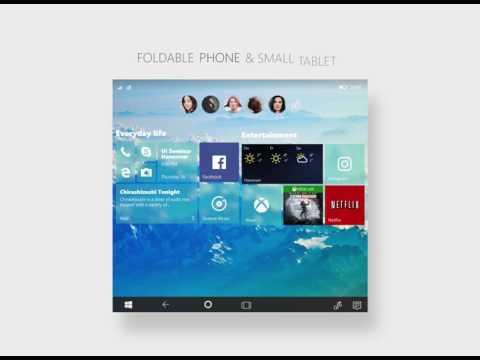 Windows 10 Composable Shell (CShell) Concept