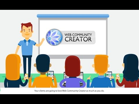Web Community Creator