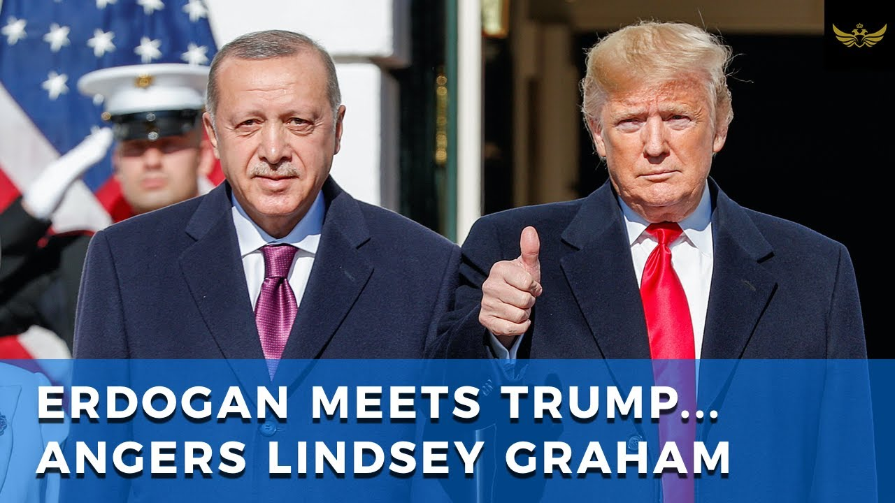 Erdogan visits Trump at White House, faces off with Lindsey Graham