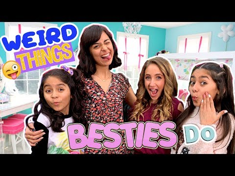 Weird Things Best Friends Do - ft. Ava Kolker Disney Channel : Sydney To The Max // GEM Sisters