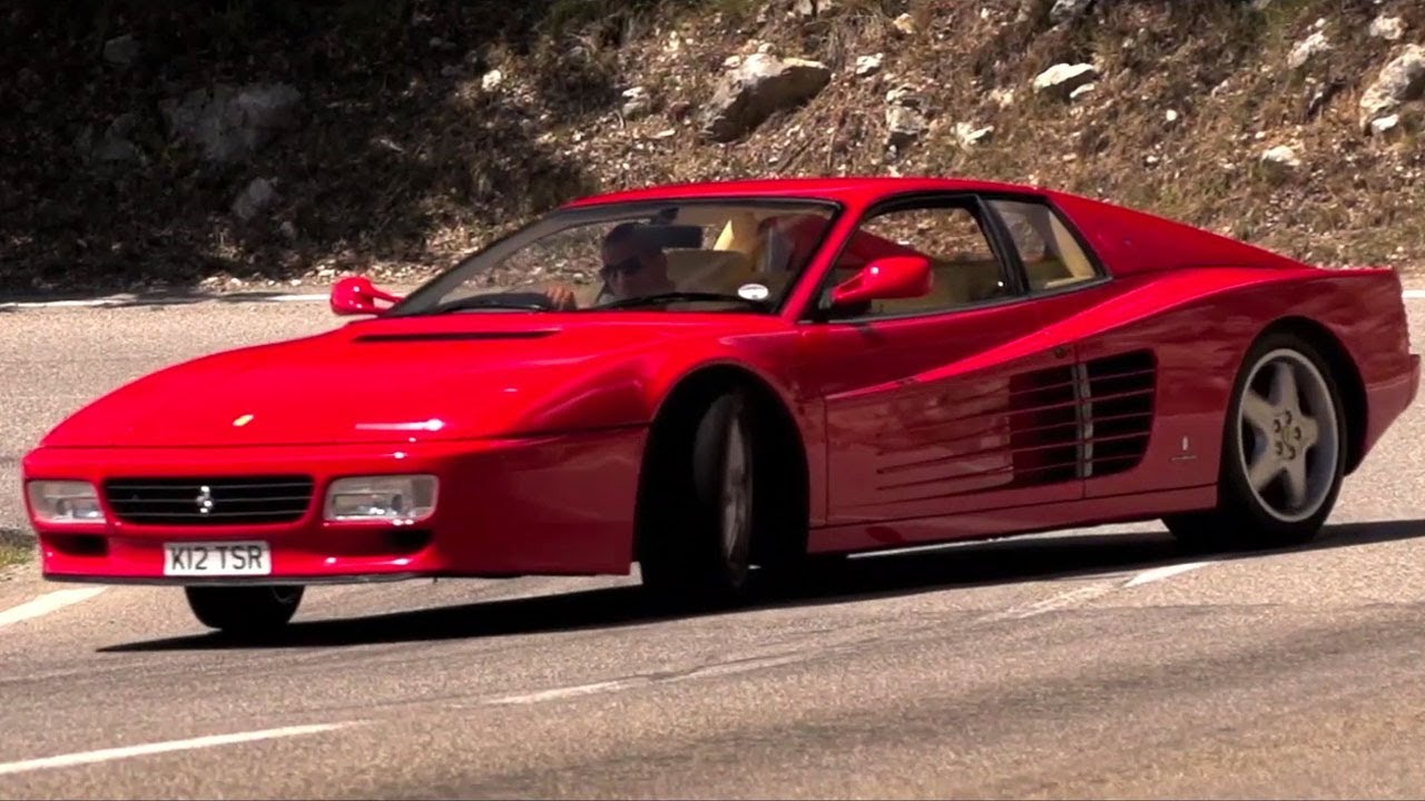 the 1992 ferrari 512 tr: a /drive film. - youtube