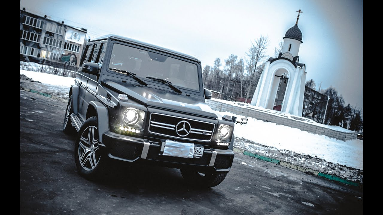 Обзор. Mercedes-Benz Gelandewagen G 63 AMG 5.5 V8 BiTurbo ...
