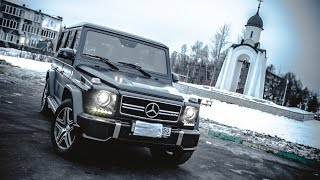 Обзор. Mercedes-Benz Gelandewagen G 63 AMG 5.5 V8 BiTurbo 544 л.с. Kirill Troitsky