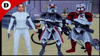 SGT HOUND PROTECTS THE SENATOR! ~ Men of War: Star Wars Mod