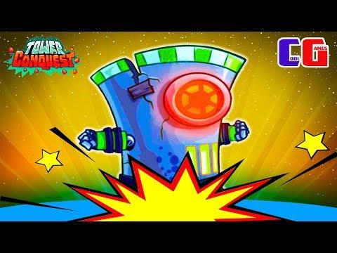САМЫЙ КРУТОЙ БОСС! Мульт игра для детей про БОИ и СРАЖЕНИЯ на АРЕНЕ Tower Conquest