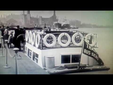 London ⛴ 1941 River bus cruise The Thames(enjoy Fairground organ )free subscribe, (honest) Alrx 😊