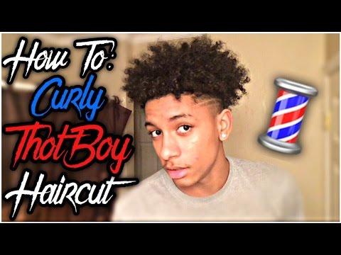 HOW TO Curly Thot Boy Haircut