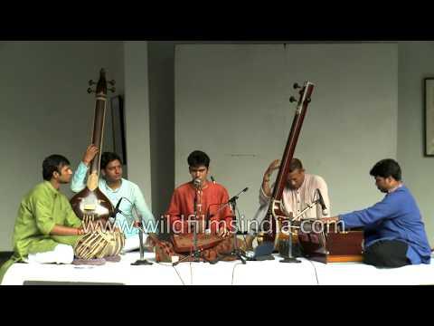 Raag Multani by Ghulam Hasan Khan and team