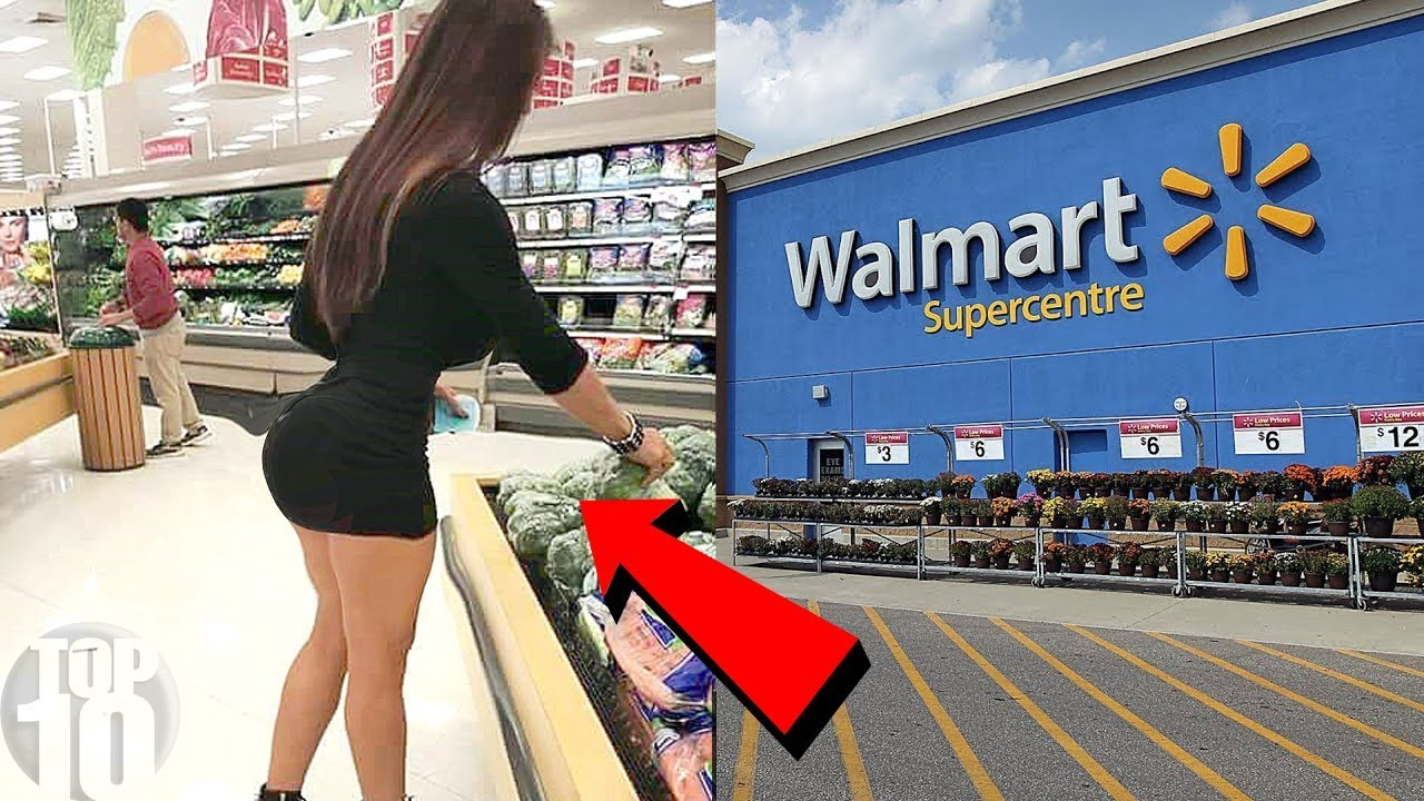 walmart in girl Black naked