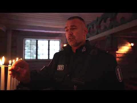 Oulu police sing to wish everyone a peaceful Christmas