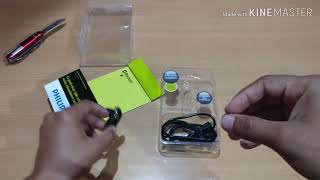 Philips SHB1700 MONO BLUETOOTH HEADSETS unboxing