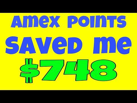 Amex Membership Reward Points