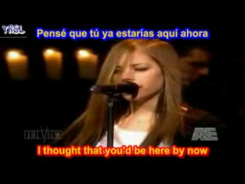 Avril Lavigne - I'm with you ( SUBTITULADA EN  ESPAÑOL & INGLES)