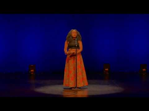 """2017 Women of the World Poetry Slam - iCon """"Born Funny"""""""