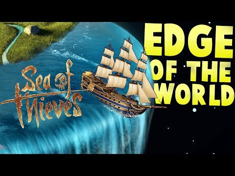 Sea of Thieves - Reaching the Edge of the World! - Flying Boats? - Sea of Thieves Gameplay