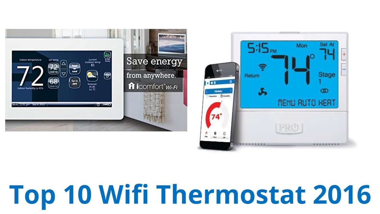 10 Best Wifi Thermostats 2016