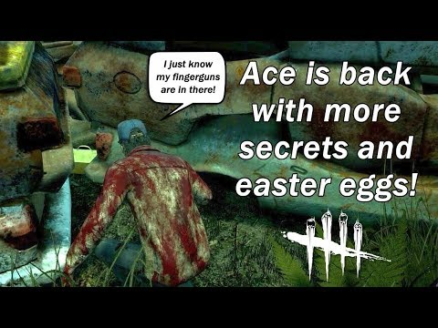 DBD| Ace is back with more secrets and easter eggs! Gold toolbox hunt part 2!