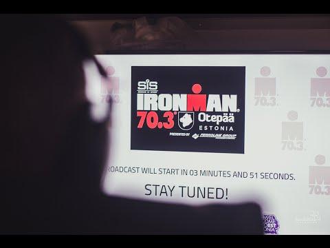 SiS Ironman 70.3 Otepää 2016 - Live Broadcast